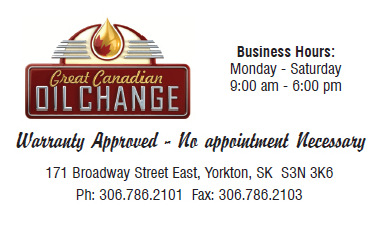 Great Canadian Oil Change  Yorkton, SK