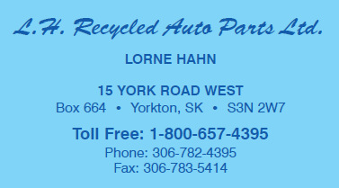 L & H Recycled Auto Parts Ltd - Yorkton, SK